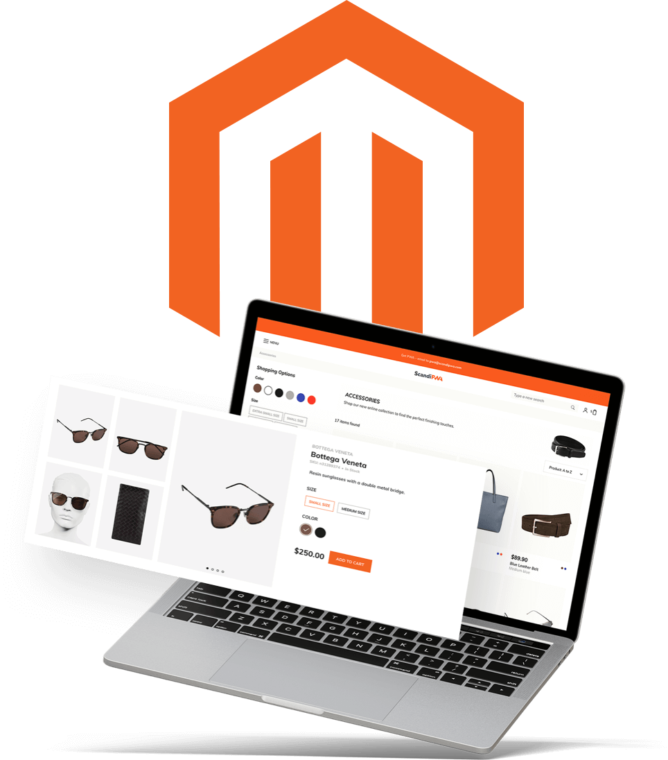 First PWA theme for Magento